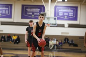 RJ Taylor Grand Blanc Bobcat Basketball Sophomore