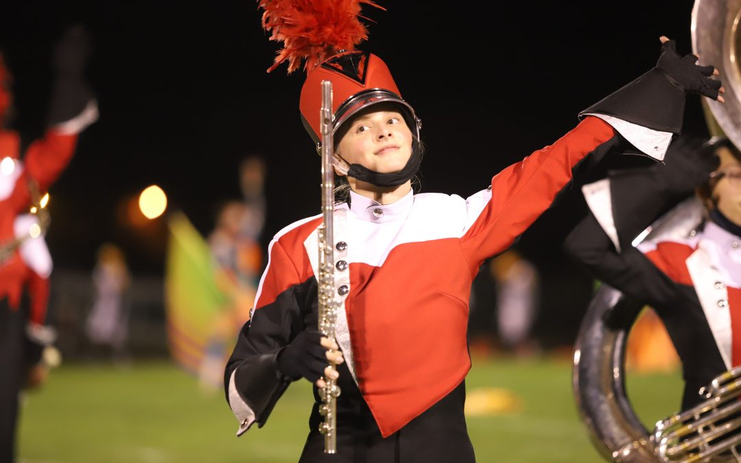 Grand Blanc Bobcat Marching Band & Varsity Pom 10.9.20