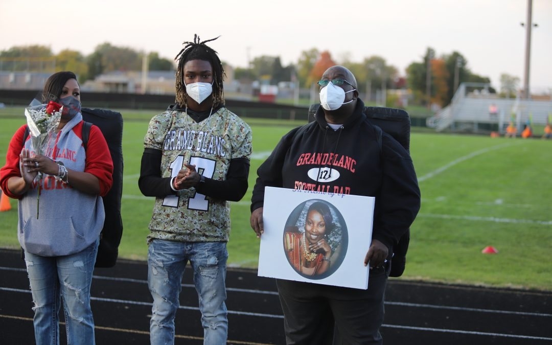 Grand Blanc Bobcats Football Senior Night 10.9.20
