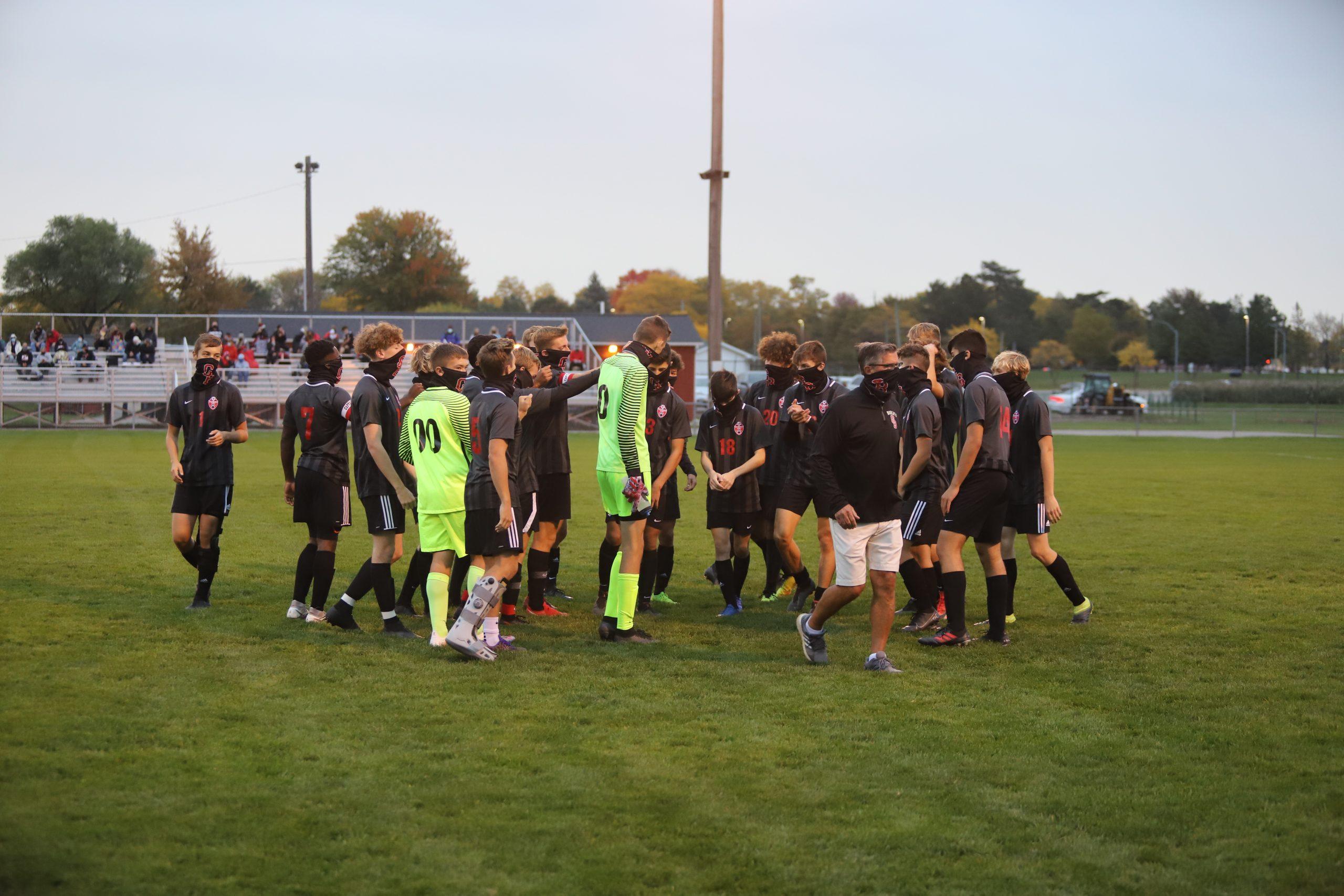 Grand Blanc Soccer Defeats Bay City 11-0